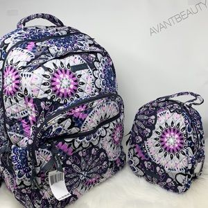 MIMOSA Vera Bradley large essential backpack lunch